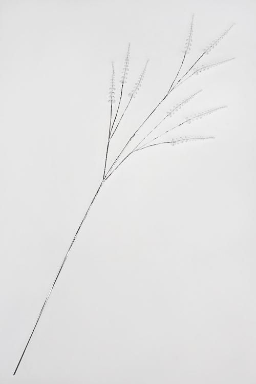 Украшение для интерьера ЛисточкиДекоративные цветы<br>Выс=91см, акрил, металл<br>