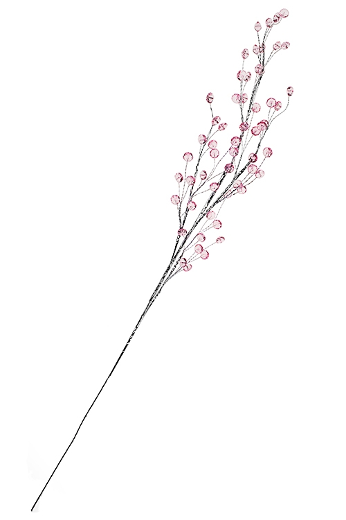 Украшение для интерьера ЯгодкиПодарки на Новый год 2018<br>Выс=75см, акрил, металл, розовое<br>