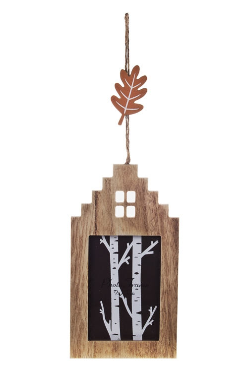 Рамка для фото Сказочный лесДеревянные фоторамки<br>12*22см, фото 9*13см, МДФ, стекло, подвесная<br>