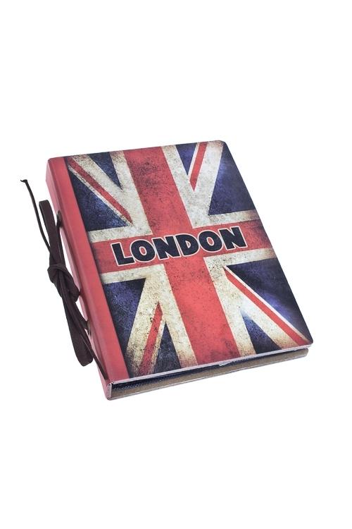 Фотоальбом ЛондонФотоальбомы<br>На 20 фото 8*12см, бум.<br>
