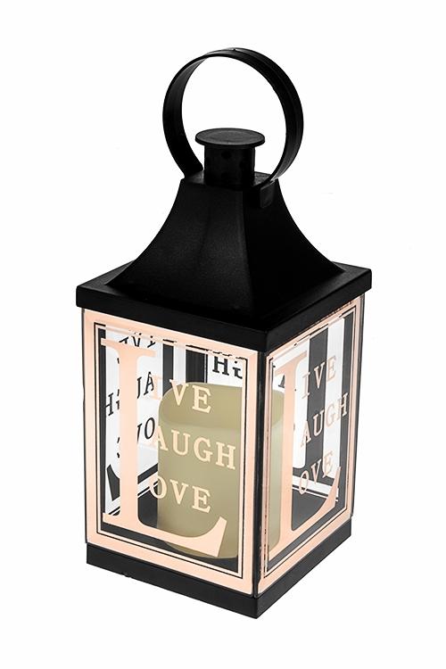 Украшение для интерьера светящееся ЛампаПодарки<br>10*22см, стекло, пластм., на батар.<br>