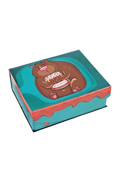Шкатулка для ювелирных украшений Любимая малинкаШкатулки и наборы по уходу<br>15*13*6см, искусств. кожа, полиэстер<br>