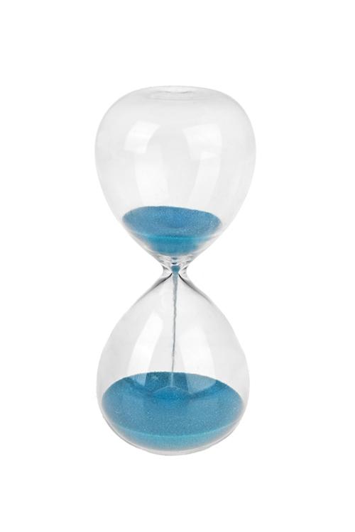 Часы песочные 3 минутыЧасы Настольные<br>Выс=13.5см, стекло, металл<br>