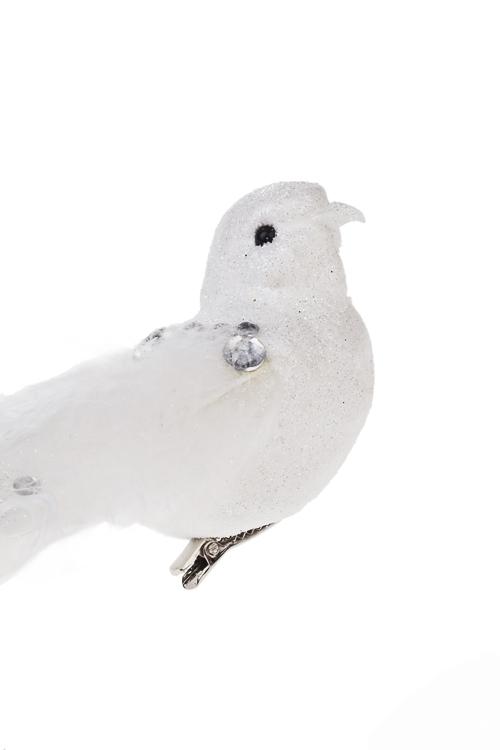 """Украшение для интерьера """"Счастливая птица"""" (белое) - 2"""