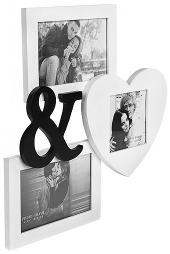 """Рамка для 3-х фото """"Ты и я"""" от Красный куб"""
