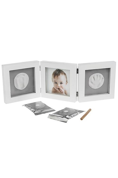 Набор подарочный Мамино сокровищеИнтерьер<br>3-предм., 54*18см, МДФ (рамка для фото, гипс, скалка)<br>