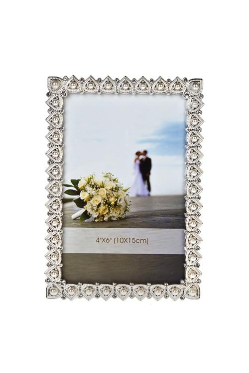 Рамка для фото Жемчужные капельки dg рамка для фото jardo