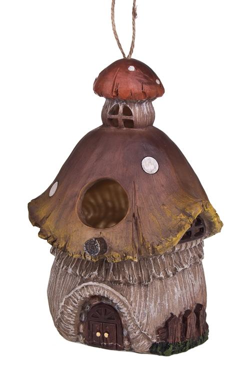 """Декор для сада/скворечник """"Домик-гриб"""" - 1"""