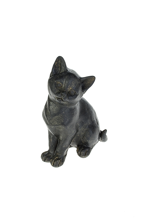 Фигурка Маленький котенокСтатуэтки<br>9*6*13см, полирезин, черная<br>