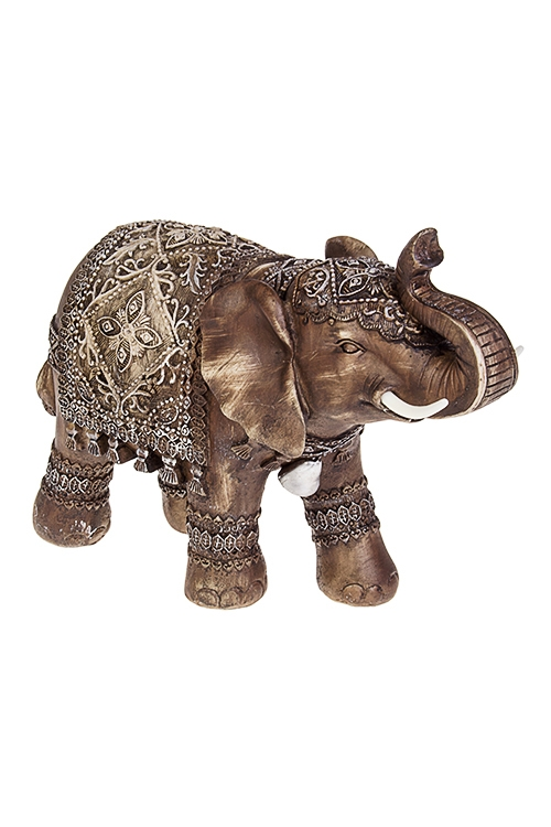Фигурка Королевский слонСувениры и упаковка<br>27*11*21.5см, полирезин, темно-коричн.<br>