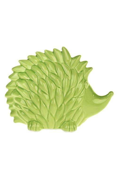 Фигурка ЕжикФигурки<br>21*10*16см, керам., зеленая<br>