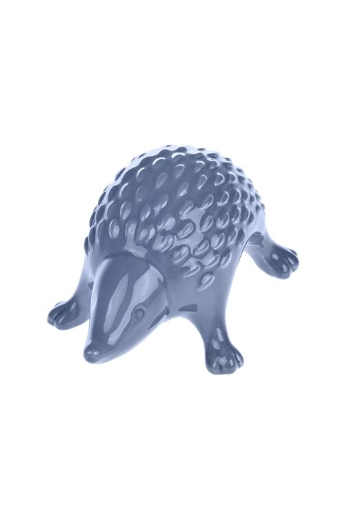 Фигурка БроненосецСувениры и упаковка<br>18*12*10см, керам., синяя<br>