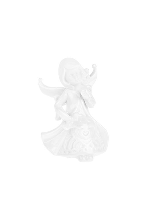 Фигурка Сказочная феяСувениры и упаковка<br>Выс=9см, фарфор, белая (2 вида)<br>
