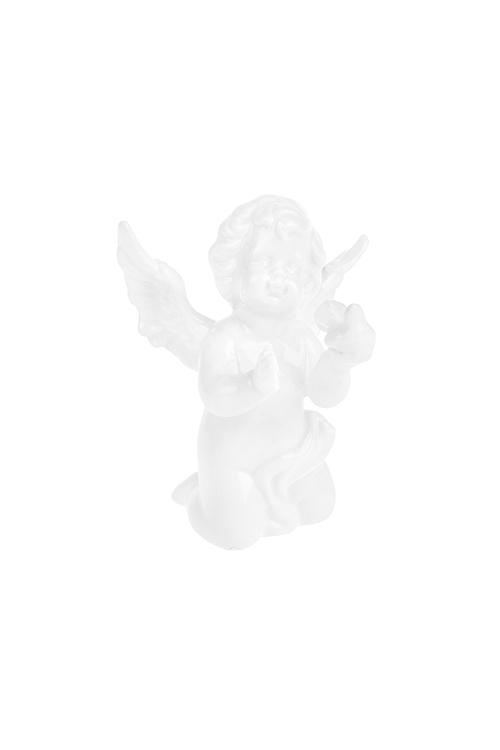 Фигурка Ангелок с голубкой индия грэй девушка с голубкой