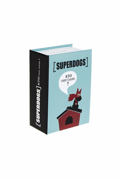 Сейф-копилка СупердогСувениры и упаковка<br>11*8*4см, металл, голубо-черно-красный<br>