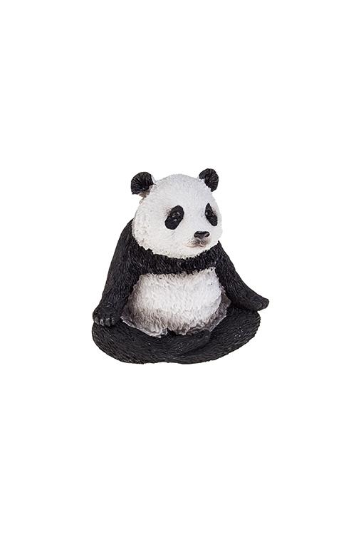 Фигурка Дзен пандаСувениры и упаковка<br>7*5*6.5см, полирезин, бело-черн.<br>