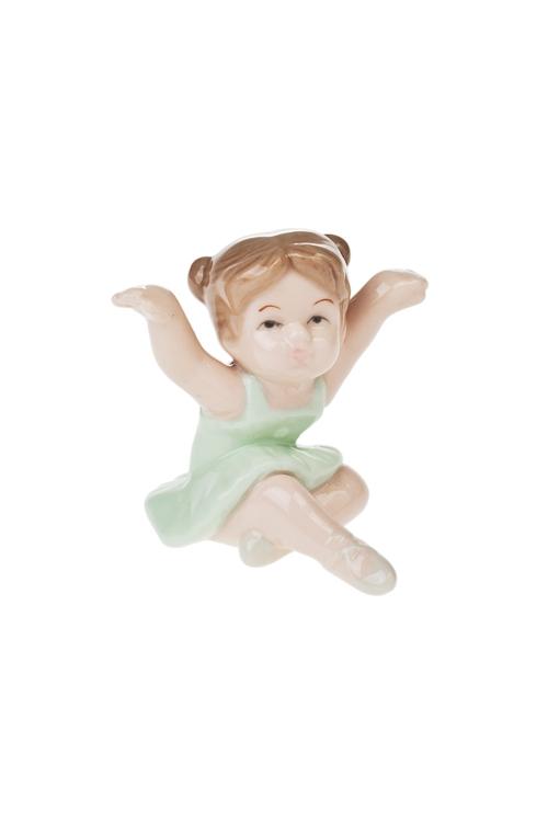 Фигурка Милая балеринаФигурки<br>Выс=6.5см, фарфор (5 видов)<br>