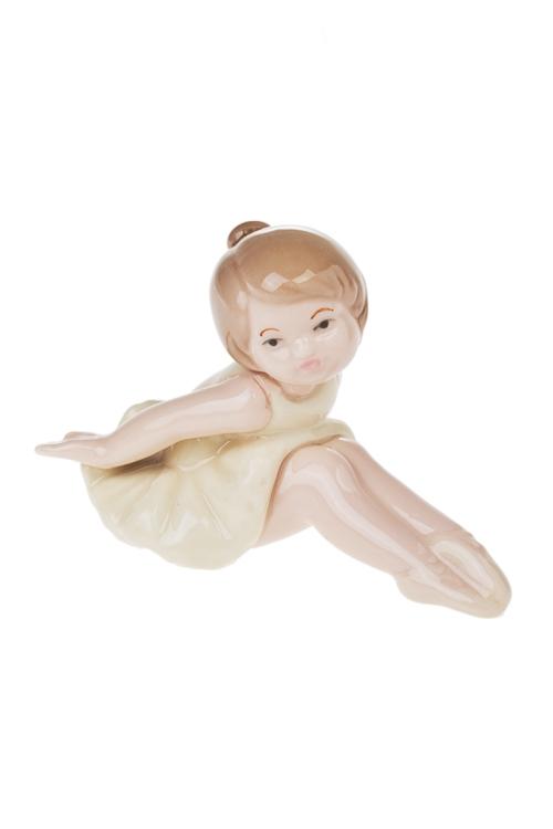 Фигурка Улыбчивая балеринаФигурки<br>11*8см, фарфор (3 вида)<br>