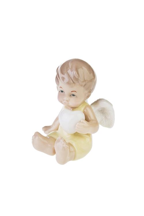 """Фигурка """"Малыш-ангелочек"""" с сердечком - 1"""