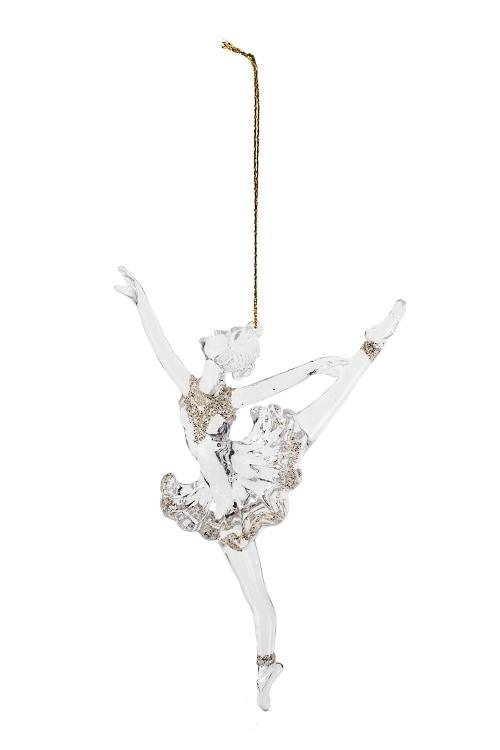 Украшение декоративное БалеринаПодарки<br>Выс=16см, пластм., подвесное<br>