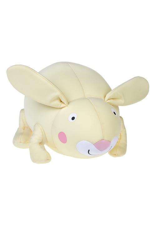 Игрушка мягконабивная ЗайкаПодарки ко дню рождения<br>35*20*20см, лайкра, лимонная<br>