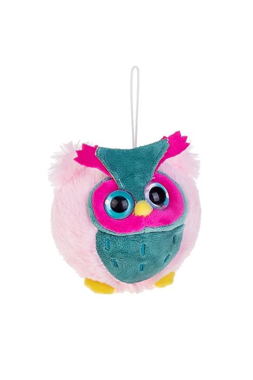 Игрушка мягконабивная СовушкаИгрушки и куклы<br>Выс=12см, текстиль (2 цвета)<br>