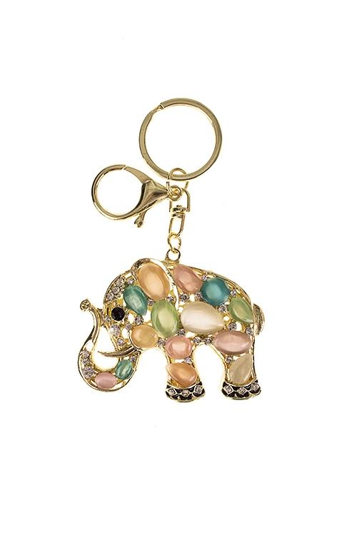 Брелок Перламутровый слоник подвеска брелок cheribags цвет бежевый слоник 12