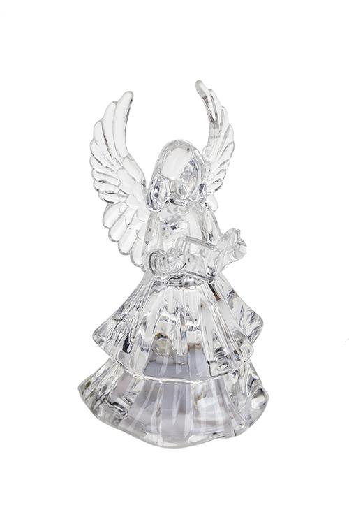 Украшение декоративное светящееся Прекрасный ангелНовогодние сувениры<br>Выс=9см, акрил, подвесное, на батар.<br>