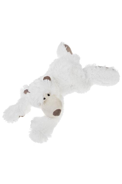 Игрушка мягкая Полярный мишкаПодарки ко дню рождения<br>Дл=40см, текстиль, белая<br>