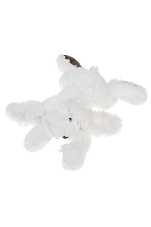 Игрушка мягкая Дремлющий зайкаИгрушки и куклы<br>Дл=40см, текстиль, белая<br>