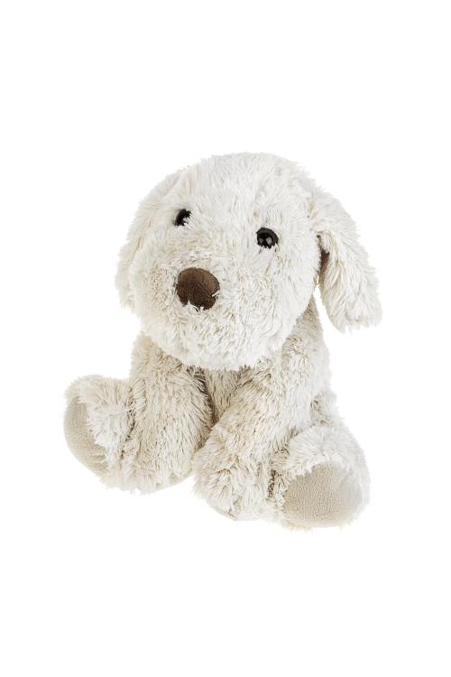 Игрушка мягкая Счастливая собачкаПлюшевые игрушки<br>Выс=20см, текстиль, крем.<br>