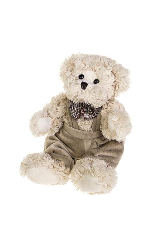 Игрушка мягкая МишуткаИгрушки и куклы<br>Дл=25см, текстиль, крем.-коричн. (2 вида)<br>