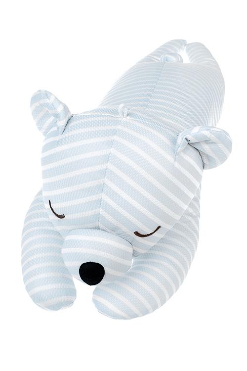 Игрушка мягконабивная Спящий мишкаИгрушки и куклы<br>67*20см, текстиль, голубая<br>