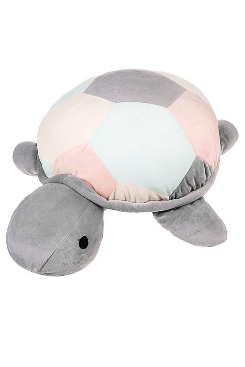 Игрушка мягконабивная ЧерепашкаПлюшевые игрушки<br>65*57см, текстиль, разноцветная<br>