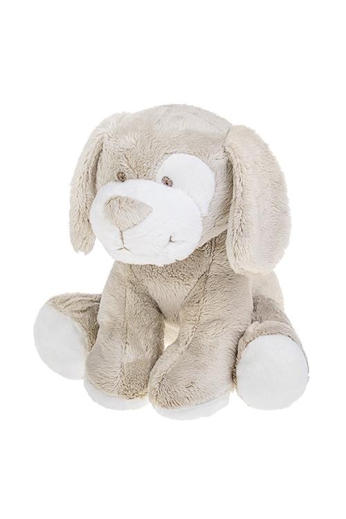 Игрушка мягкая ароматизированная Песик - счастливый носикИгрушки и куклы<br>18*22см, текстиль, бело-беж с аром. сладкой ваты<br>