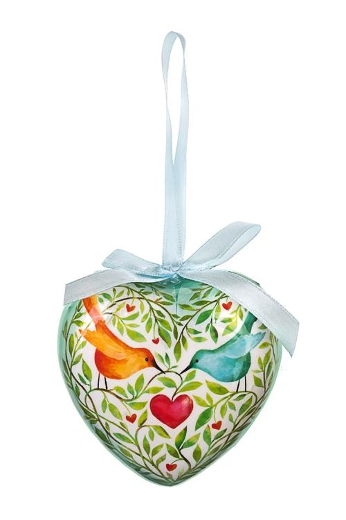 Украшение декоративное Райские птичкиСувениры и упаковка<br>Выс=9см, пенопласт, подвесное<br>