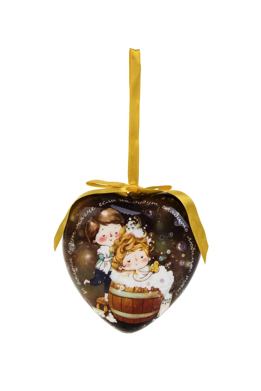 Украшение декоративное ЛюбовьПодарки на Новый год 2018<br>Выс=9см, пенопласт, бум.<br>