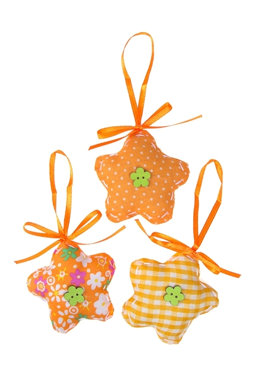 Набор украшений декоративных ЦветочекДекоративные гирлянды и подвески<br>3-предм., 6*9см, фетр, подвесной (2 цвета)<br>