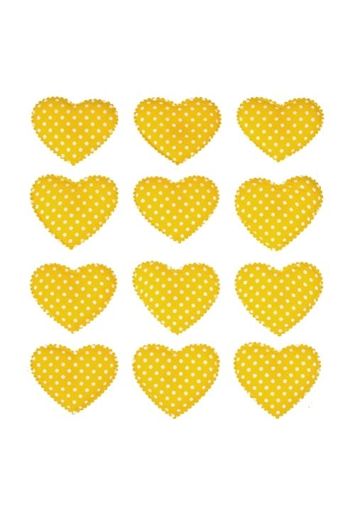 Набор украшений на липучке Нежность сердцаСувениры на липучке<br>Выс=3.5см текстиль, на липучке, в блист. (3 вида)<br>