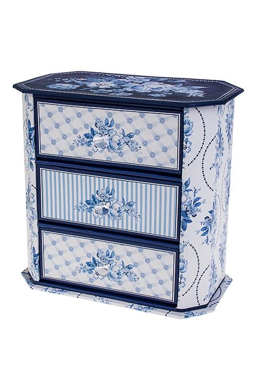Шкатулка для ювелирных украшений Волшебные цветыШкатулки для украшений<br>17*10*16.5см, картон<br>