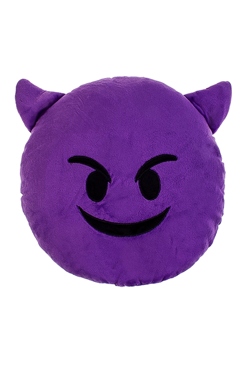 Игрушка мягконабивная ЧертенокПодарки ко дню рождения<br>Д=30см, текстиль, фиолетовая.<br>