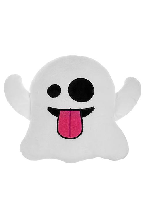 Игрушка мягконабивная ПривидениеПодарки ко дню рождения<br>Выс=30см, текстиль, бело-черная<br>