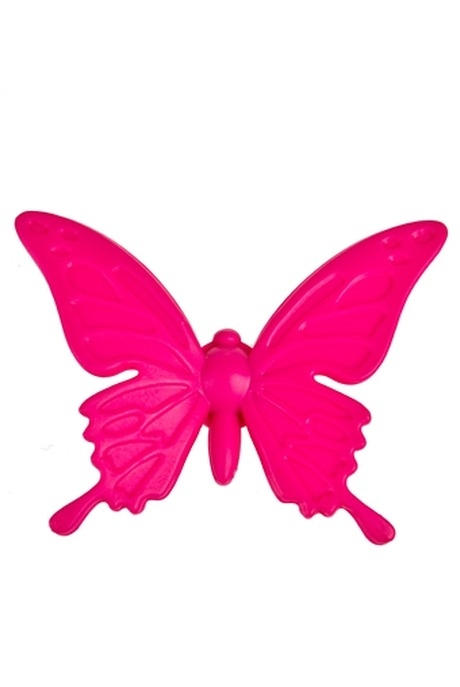 Держатель-магнит Яркая бабочкаСувениры и упаковка<br>полирезин (2 вида)<br>