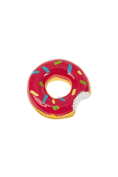 Держатель-магнит ПончикСувениры для женщин<br>Д=4.5см, полирезин (2 цвета)<br>