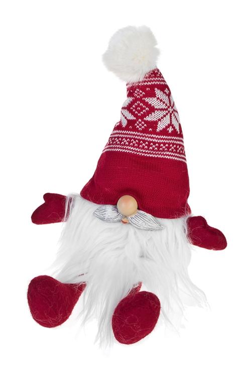 Кукла декоративная Добрый Дедушка Мороз