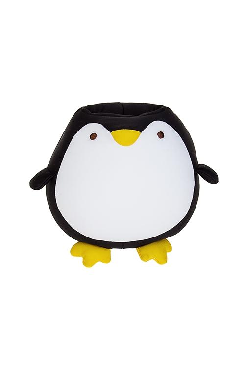 Держатель для мобильного телефона ПингвиненокСувениры и упаковка<br>Выс=14см, текстиль, черно-белый<br>
