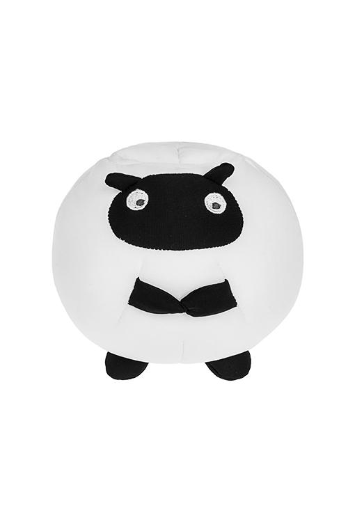 Держатель для мобильного телефона Милая овечкаПодарки на день рождения<br>Выс=14см, текстиль, бело-черный<br>