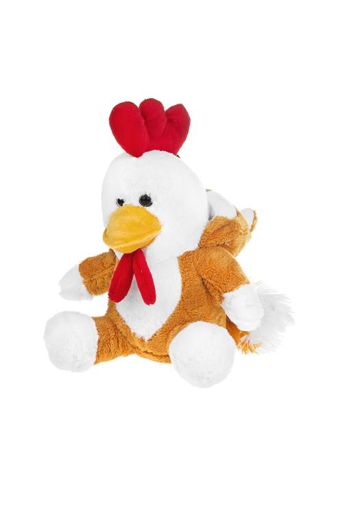 Игрушка мягконабивная ЦыполисПлюшевые игрушки<br>Выс=22см, текстиль, бело-оранж.<br>