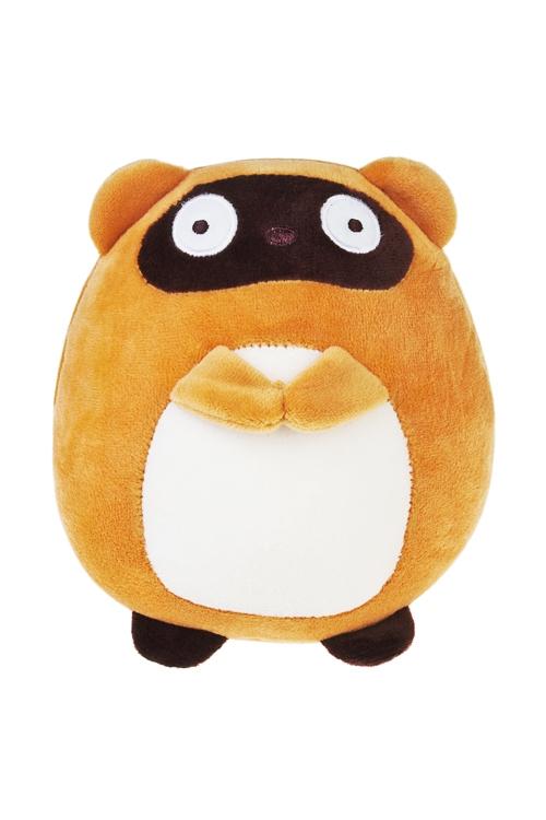 Игрушка мягконабивная Сказочный мишкаПлюшевые игрушки<br>14*16см, лайкра, коричн.-крем.<br>