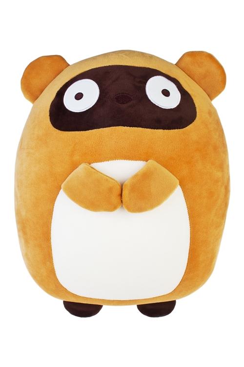 Игрушка мягконабивная Сказочный мишкаПлюшевые игрушки<br>23*35см, лайкра, коричн.-крем.<br>